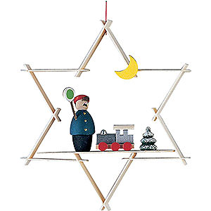 Baumschmuck Spielzeug-Design Christbaumschmuck Eisenbahn - 9,5 cm