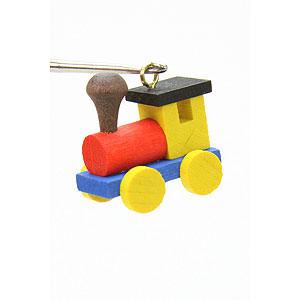 Baumschmuck Spielzeug-Design Christbaumschmuck Lokomotive - 2,4 / 2,3 cm