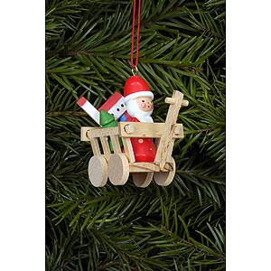 Christbaumschmuck Weihnachten Christbaumschmuck Nikolaus im Wägele - 5,4x4,7 cm