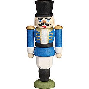 Baumschmuck Weihnachten Christbaumschmuck Nussknacker - Husar blau - 9 cm