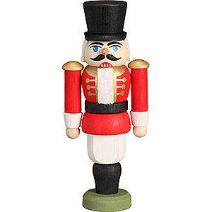 Baumschmuck Weihnachten Christbaumschmuck Nussknacker - Husar rot - 9 cm