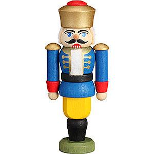 Baumschmuck Weihnachten Christbaumschmuck Nussknacker - König blau - 9 cm