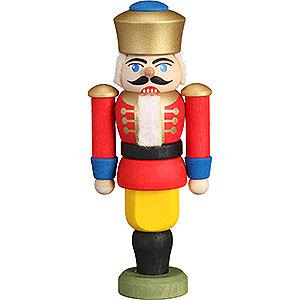Baumschmuck Weihnachten Christbaumschmuck Nussknacker - König rot - 9 cm