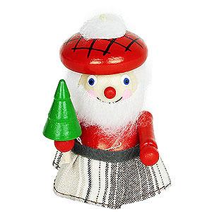 Baumschmuck Weihnachtsmann Christbaumschmuck Schottischer Weihnachtsmann - 7,5 cm