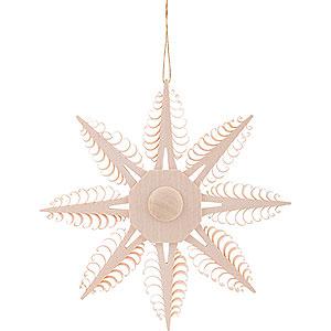 Baumschmuck Mond & Sterne Christbaumschmuck Spanstern - 12,5 cm