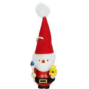 Baumschmuck Weihnachtsmann Christbaumschmuck Spielzeugmacher Weihnachtsmann - 7,5 cm