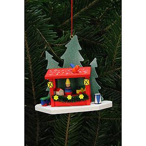 Baumschmuck Weihnachten Christbaumschmuck Striezelmarktstand - 9,2x8,7 cm