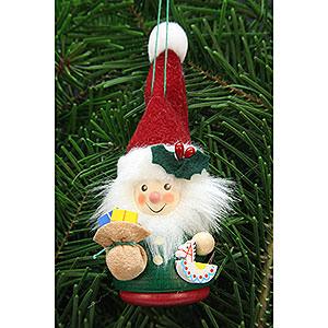 Christbaumschmuck Strolche & Andere Christbaumschmuck Wackelmännchen Weihnachtsmann - 12,5 cm