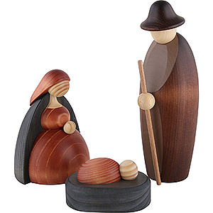 Kleine Figuren & Miniaturen Björn Köhler Krippe groß Christi Geburt, 3-teilig - 17 cm