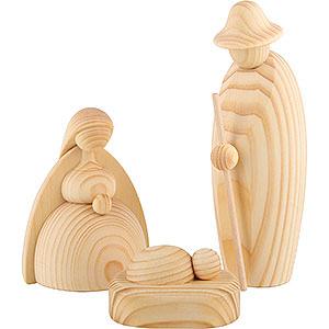Kleine Figuren & Miniaturen Björn Köhler Krippe groß natur Christi Geburt, 3-teilig, natur - 17 cm