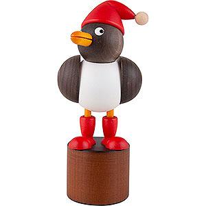 Small Figures & Ornaments Animals Birds Christmas Seagull grey - 12,5 cm / 4.9 inch