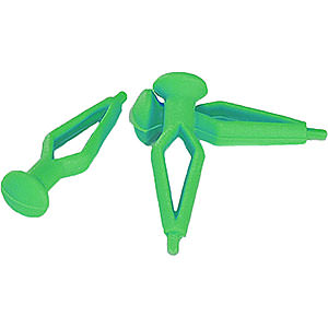 Advent Stars and Moravian Christmas Stars Replacement parts Clamps for 29-00-A4 and 29-00-A7, Green - 75 pcs.
