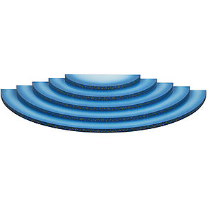 Angels Angel Clouds & Access. Cloud 5-Tier Blue-White - 51 cm / 20 inch