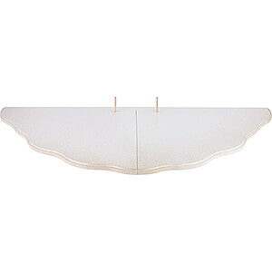 Angels Angels - natural - small Cloud Landscape - Tier 6 - White/Gold - 82x36 cm / 32.3x14.1 inch