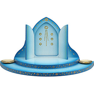 Angels Angel Clouds & Access. Cloud with Heaven's Gate 2-Tier Blue-White - 27 cm / 10.6 inch