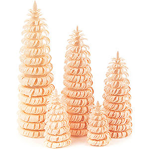 Small Figures & Ornaments Decorative Trees Coiled Trees without Trunk Natural - 5 pieces - 10 cm / 3.9 inch