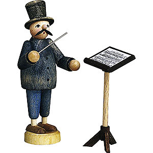 Small Figures & Ornaments Günter Reichel Born Country Conductor with Music Stand - 7 cm / 2.8 inch