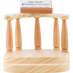 Angels Short Skirt (Blank) Conductor's Platform for Short Skirt Angel, Natural - 6,6 cm / 2.6 inch
