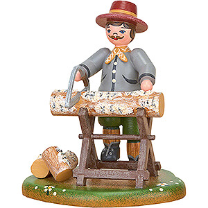 Small Figures & Ornaments Hubrig Four Seasons Country Idyll Firewood - 8 cm / 3.1 inch