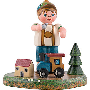 Small Figures & Ornaments Hubrig Four Seasons Country Idyll My First Train - 6 cm / 2.4 inch