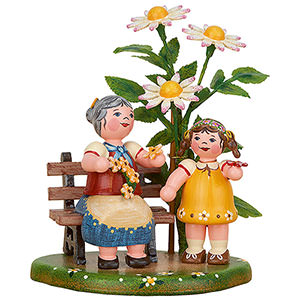 Small Figures & Ornaments Hubrig Four Seasons Country Idyll My Grandma - 10 cm / 3.9 inch