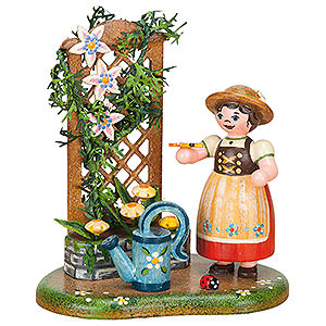 Small Figures & Ornaments Hubrig Four Seasons Country Idyll Sommer Flower Tendril - 10 cm / 3,9 inch