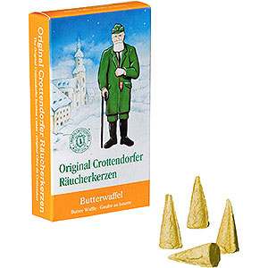 Smokers Incense Cones Crottendorfer Incense Cones - Butter Waffle