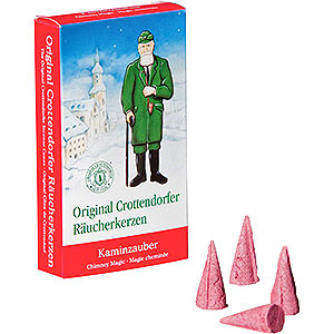 Smokers Incense Cones Crottendorfer Incense Cones - Chimney Magic