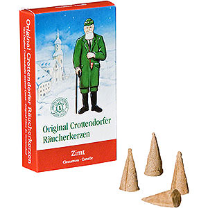 Smokers Incense Cones Crottendorfer Incense Cones - Cinnamon