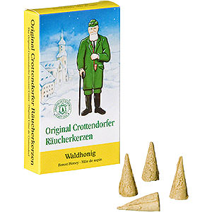 Smokers Incense Cones Crottendorfer Incense Cones - Forest Honey