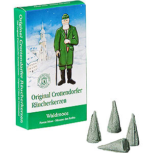 Smokers Incense Cones Crottendorfer Incense Cones - Forest Moss