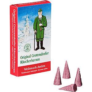 Smokers Incense Cones Crottendorfer Incense Cones - Frankincense Ambergris