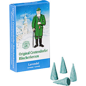 Smokers Incense Cones Crottendorfer Incense Cones - Lavender