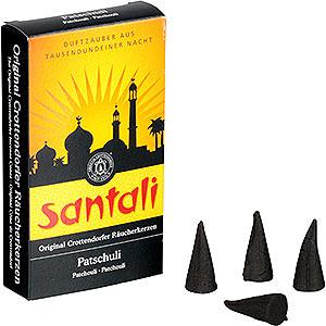 Smokers Incense Cones Crottendorfer Incense Cones - Santali Patchouli