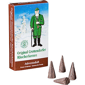 Smokers Incense Cones Crottendorfer Incense Cones - Scent of Advent