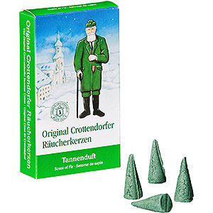 Smokers Incense Cones Crottendorfer Incense Cones - Scent of Fir