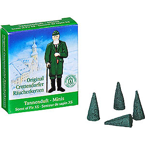 Smokers Incense Cones Crottendorfer Incense Cones Scent of Fir - Miniature