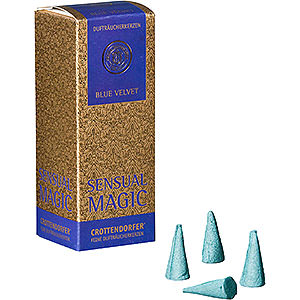 Smokers Incense Cones Crottendorfer Incense Cones - Sensual Magic - Blue Velvet