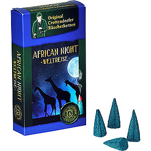 Smokers Incense Cones Crottendorfer Incense Cones - Trip Around the World - African Night