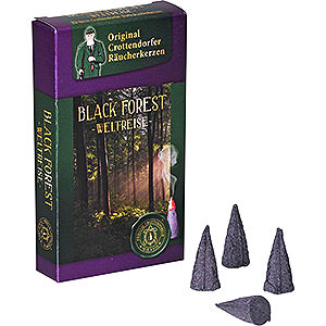 Smokers Incense Cones Crottendorfer Incense Cones - Trip Around the World - Black Forest
