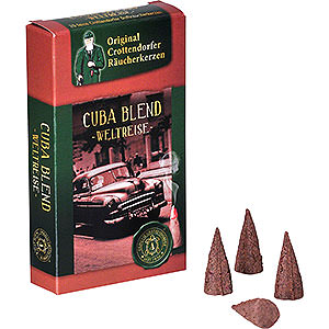 Smokers Incense Cones Crottendorfer Incense Cones - Trip Around the World - Cuba Blend