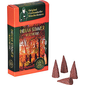Smokers Incense Cones Crottendorfer Incense Cones - Trip Around the World - Indian Summer