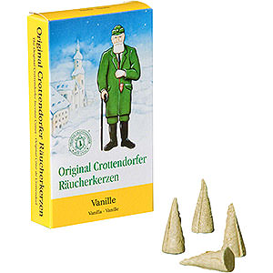 Smokers Incense Cones Crottendorfer Incense Cones - Vanilla