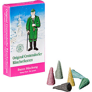 Smokers Incense Cones Crottendorfer Incense Cones - Variety Pack