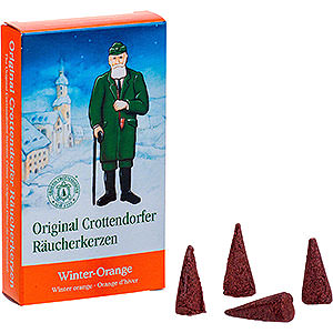 Smokers Incense Cones Crottendorfer Incense Cones - Winter Orange