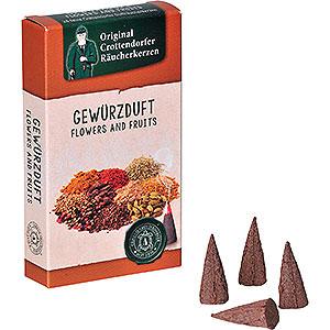 Räuchermänner Räucherkerzen Crottendorfer Räucherkerzen - Flowers and Fruits - Gewürzduft