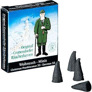 Räuchermänner Räucherkerzen Crottendorfer Räucherkerzen - Weihnachtlicher Weihrauch - Minis