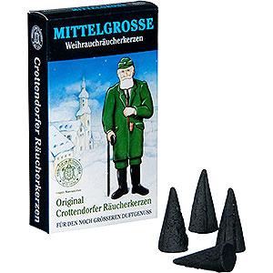 Räuchermänner Räucherkerzen Crottendorfer Räucherkerzen - Weihnachtlicher Weihrauch - mittelgroß