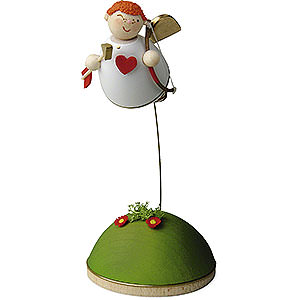 Angels Reichel Amor Cupid Floating on Stand - 3,5 cm / 1.3 inch