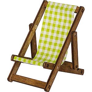 Gift Ideas Retirement Deckchair for Mini Owls - 8 cm / 3.1 inch